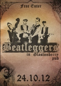 24.10 Beatleggers in Glanstonberry! Москва.