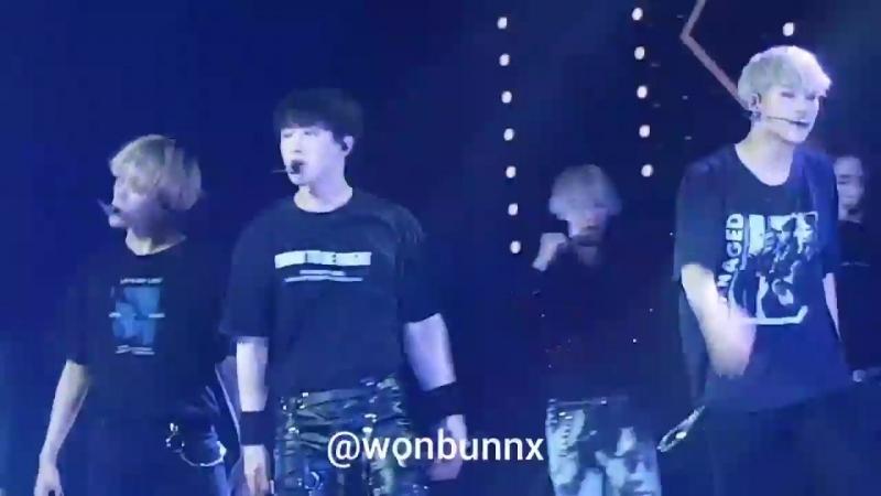 [VK][180808] MONSTA X fancam - Dramarama (Wonho focus) @ The 2nd World Tour The Connect in Buenos Aires