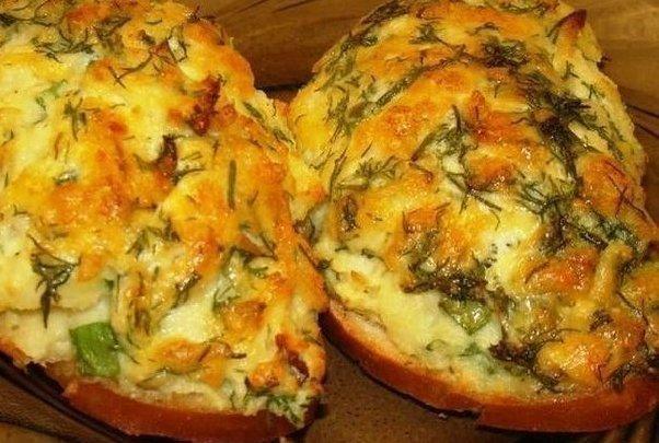 7 рецептов горячих бутербродов на закуску!