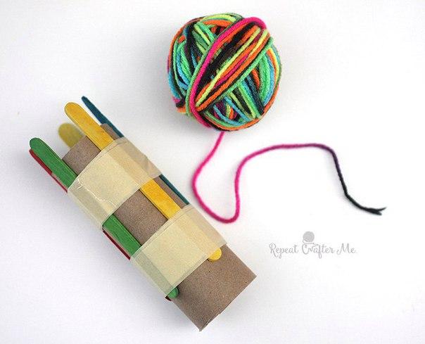 Устройство для плетения шнуров своими руками