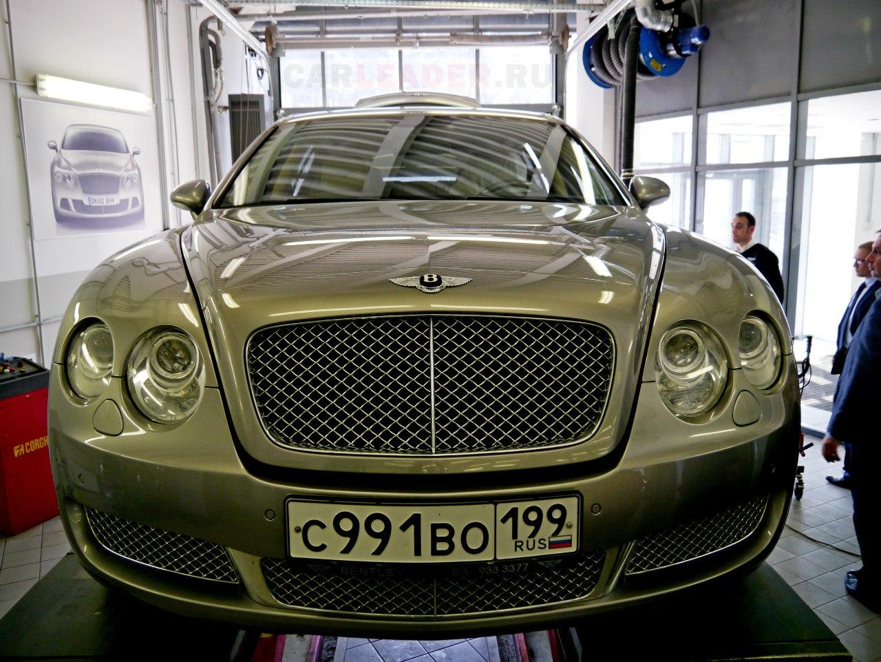 В качестве исследуемого образца Рис Саймонс изучил полноприводный Bentley Continental 2007.
