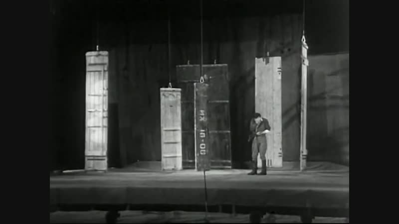 Отрывок из спектакля А зори здесь тихие Театр на Таганке