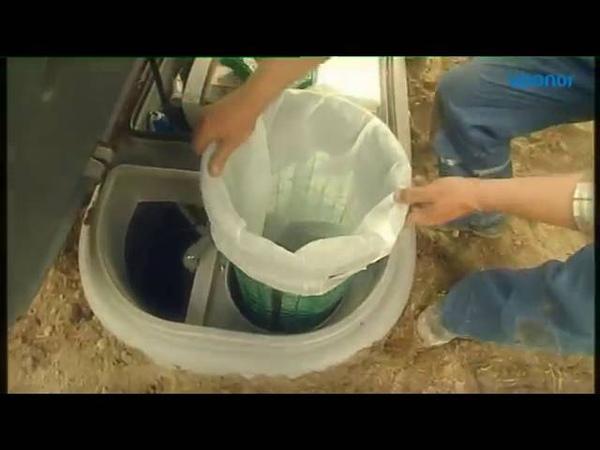 Локальная канализация для загородного дома UponorWehoPuts 5/10 - запуск