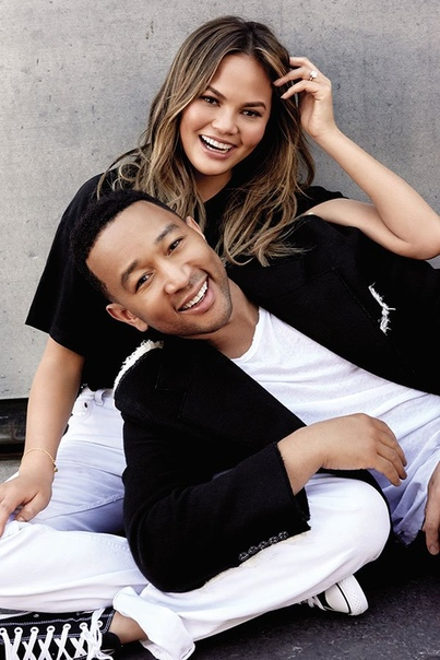 John Legend and Chrissy Teigen YOU Magazine, November 2018.