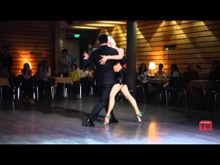 Sebastian Arce & Eleonora Kalganova, 1, First Moscow Tango Festival 2014, Prischepov.TV