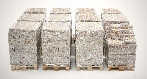 Так выглядит 1 миллиард долларов!