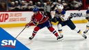 Max Domi Fights Off Vladimir Tarasenko to Score His First For Canadiens