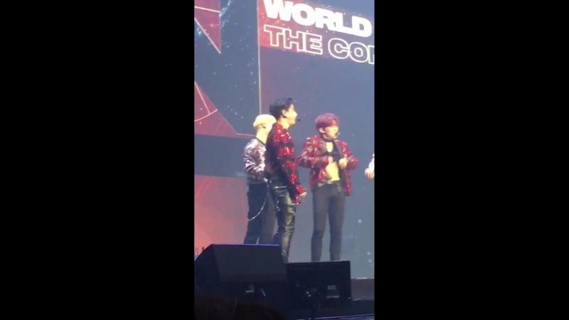[VK][180527] MONSTA X fancam Talk Time (Kihyun focus) @ The 2nd World Tour: The Connect in Seoul D-2