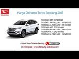 Harga Daihatsu Terios 2018 Bandung dan Jawa Barat 082127725181