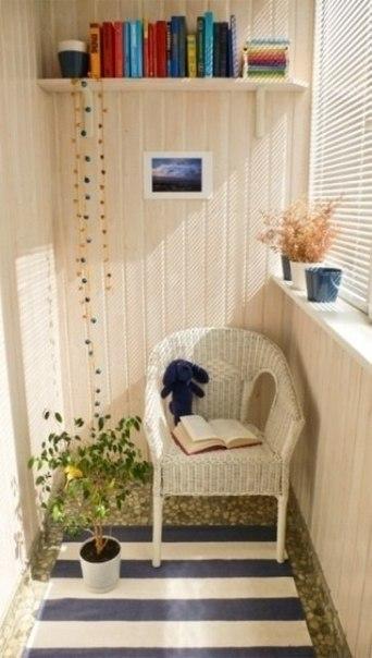 Идеи для небольших балконов