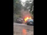 Утром в Саратове выгорел «Форд»