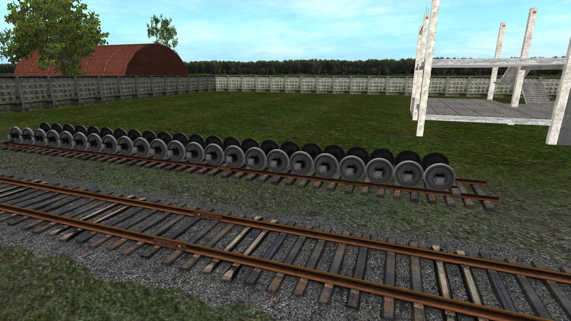 TRS: Колеса для вагонного депо