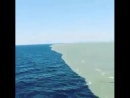 The point where the Atlantic Ocean and the Pacific Ocean are found They touch each other but they don't mix Credit