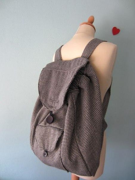Шьем сами рюкзак мастер класс подробно #9