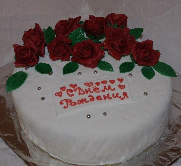 праздничные торты на день рождения фото