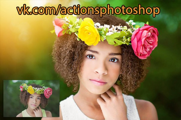 Пресет ColorFall Photoshop Action Collection для lightroom