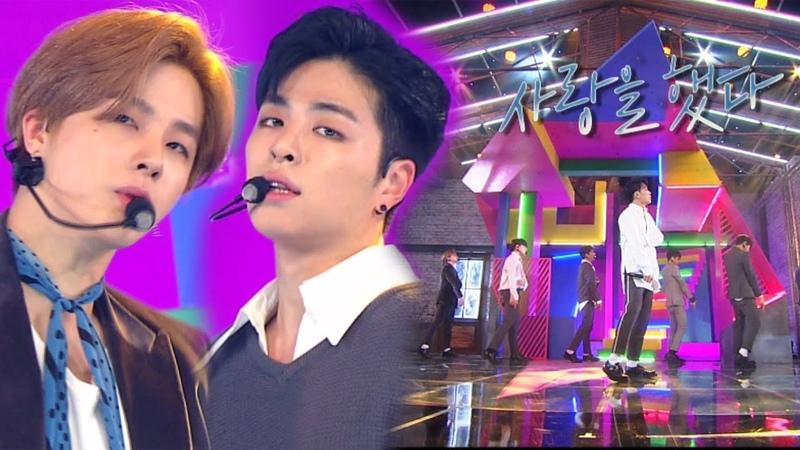 《Comeback Special》 iKON(아이콘) - LOVE SCENARIO(사랑을 했다) @인기가요 Inkigayo 20180128