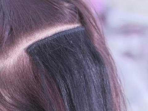 How To Put On A Hair Weft