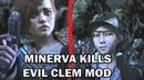 Walking Dead Finale - Minerva Kills Evil Clem [Model Swap]