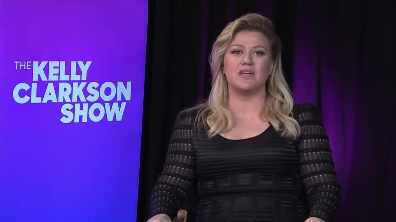 Kelly Clarkson talks about her new talk show and the Meaning of Life Tour