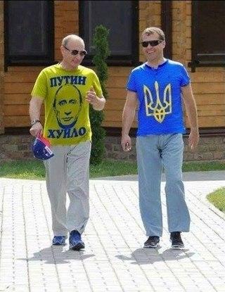 """Беларусы заставили россиянина снять футболку с Путиным и надписью """"Самый вежливый из людей"""" - Цензор.НЕТ 6927"""