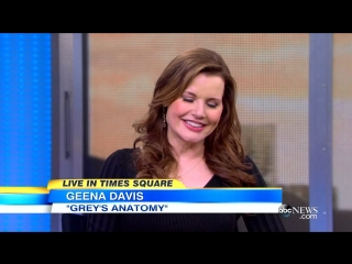 Geena Davis Gets Medical in Greys Anatomy