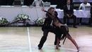 Artyom Liaskovsky Ksenia Zaputriaeva ISR Rumba WDSF World Open Latin