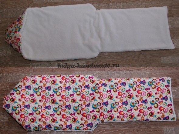 Сшить зимнее одеяло для новорожденного