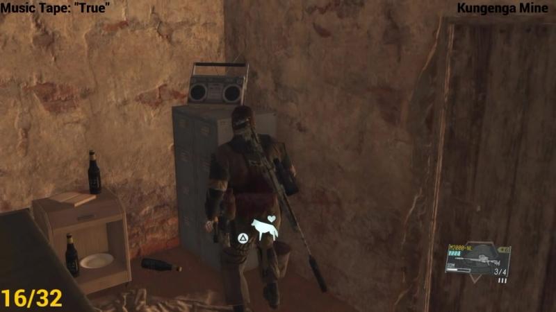[Tikar] Metal Gear Solid V: The Phantom Pain ★ All Music Cassette Tapes [ Location Guide ]