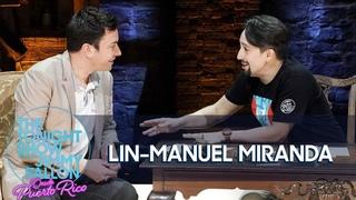 Jimmy Interviews Lin-Manuel Miranda on the Hamilton Stage in Puerto Rico