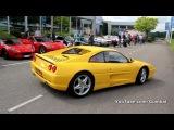 Ferrari F355 GTS accelerating + sound!! 1080p HD
