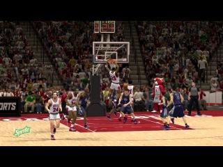 Подборка слем данков от Майкла Джордана (NBA 2k13)