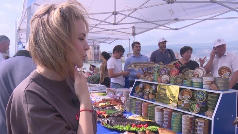 Делегация из Кизлярского района приняла участие в III республиканском фестивале «Каспийская рыба»