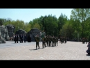 Торжественное закрытие военно спортивных игр Победа и Зарница