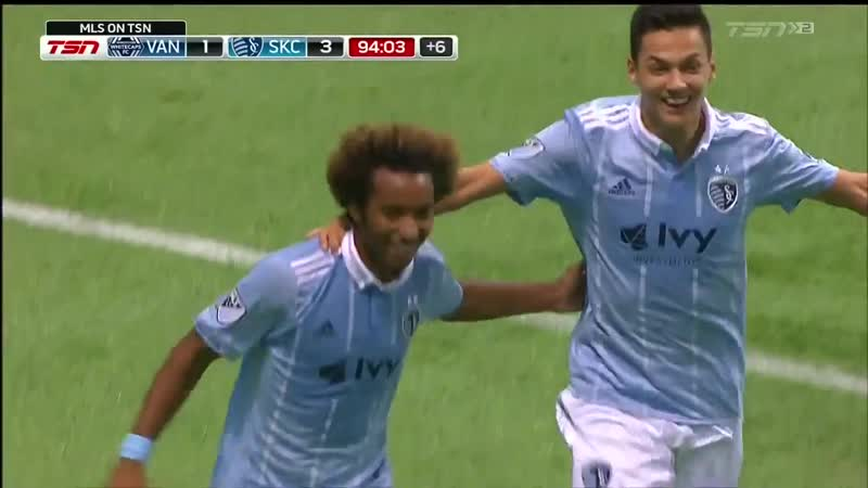 Busio scores his first MLS goal to make