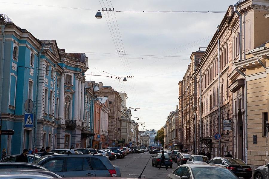 Итальянская улица Санкт-Петербург экскурсия