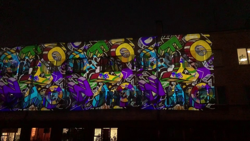 Архетектурная подсветка зданий, проектор гобо image led 150 outdoor g1