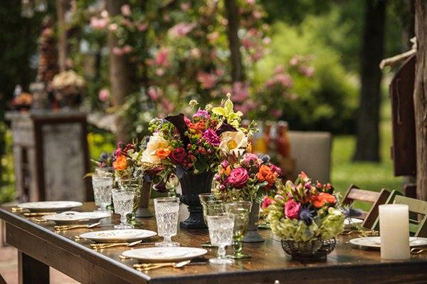 Садовый декор. Праздник в саду. (5 фото)