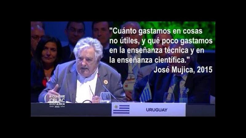 JOSE PEPE MUJICA - OVACIONADO EN III CUMBRE CELAC 2015 - ULTIMO DISCURSO DEL PRESIDENTE. COMPLETO