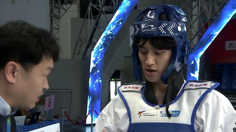 M68kg Quarterfinal, Dae-hoon LEE (KOR) VS Vladimir DALAKLIEV (BUL)