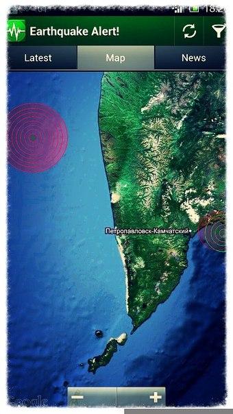 24 мая 2013 землетрясение 83.2 в Охотском море