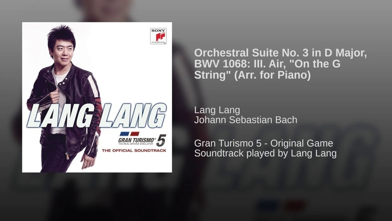Orchestral Suite No. 3 in D Major, BWV 1068: II. Air On a G String (Arr. for Piano)