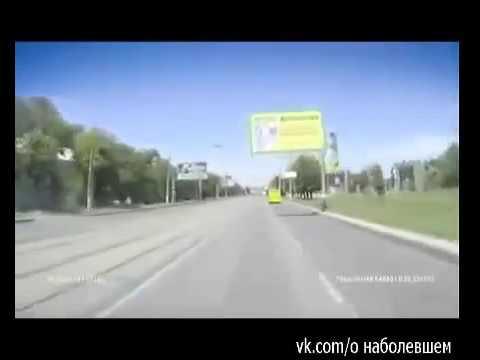 Луганск 14 июля 2014 Езда под минометным обстрелом 14 07 14