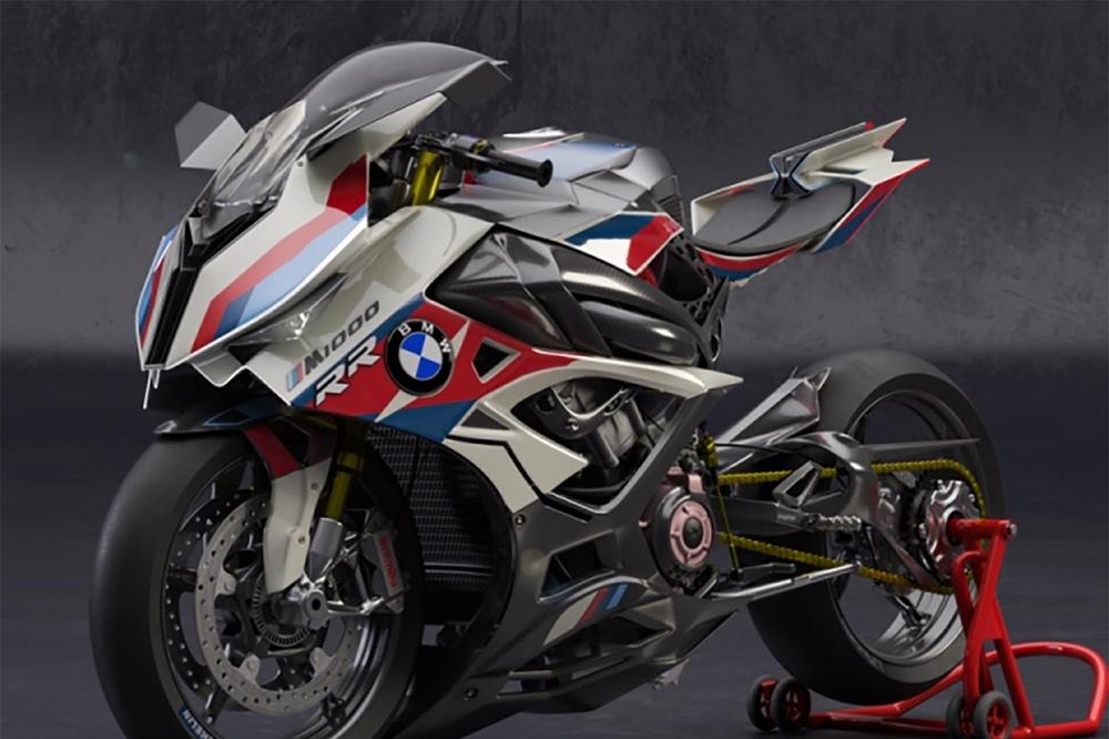 Ниржар Мардал: концепт супербайка BMW M1000RR