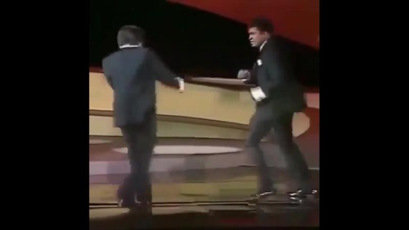 Мухаммед Али против Рокки Бальбоа.