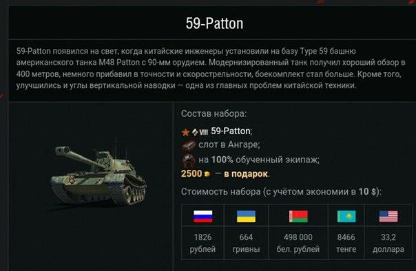 Вот в премиум магазин и поступили пакеты с новыми танком AC 4 ... 51e5f81730f0b