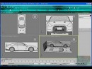 Autodesk 3ds max 2010 modelowanie samochodu Car Modeling part2
