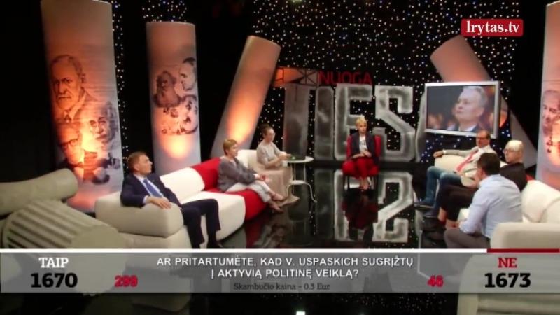 Apie būsimąjį prezidentą G. Nausėdą ir D. Grybauskaitę (tulpę) !