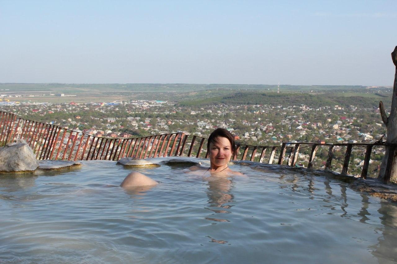 Пятигорск, ванны в горах природные