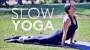 Slow Yoga Flow Core 20 Min Stretch Fightmaster Yoga
